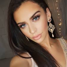 Carli Bybel Halloween by Rose Gold Glitter Nye Makeup The Fashion Bybel Carlibybel