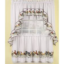 Walmart Rooster Kitchen Curtains by 20 Useful Ideas Of Rooster Kitchen Curtains As Part Of Kitchen