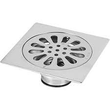 edelstahl quadrat anti geruch badezimmer boden abfluss abdeckung abfall tor duschablauf 100 100mm 3 9 3 9inch