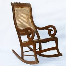 Statesville Furniture Company History by Antique Statesville Chair Co Rocking Chair And Footstool Ebth