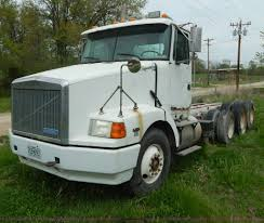100 Triple Cab Truck 1994 Volvo WIA Triple Axle Truck Cab And Chassis Item H340
