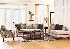 sofia vergara santorini 7pc classic living room synergy modular