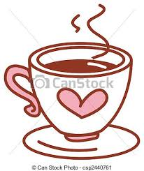 Pink Coffee Cup Clipart 1