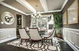 Dining Room Carpet Transitional With Global Views Arabesque Rug Mocha High Ceiling Force