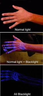 Glow In The Dark White Tattoo