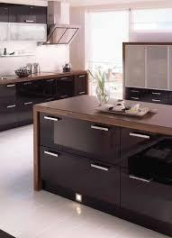 schwarze küche bilder ideen für dunkle küchen