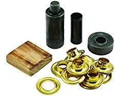 Dritz Curtain Grommet Kit by Condo Blues How To Install Grommets Eyelets In Fabric The Easy Way