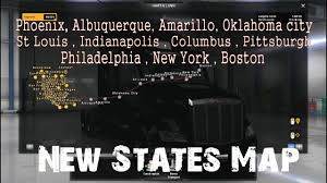 ☆American Truck Simulator☆ New States Map - YouTube Breaking 3 People Confirmed Dead And 2 Injured After Morning Accident On I40 Amarillo Stock Photos Images Alamy Untitled Redmax Fleet Program Outdoor Power Tx 806 353 Truck Camper Viva Mexico Map 211 Fix Coast To Comapatible Ats Mod Weekend Planner Your Guide Amilloarea Fun For July 19 26 American Simulator Peterbilt 379 Napa Auto Parts Sept 27 Oct All Star Family Ford Dealership In Gta V Gas Monkey Garage Tuneando Youtube