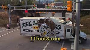 100 Budget Truck Insurance Moving Truck Obliterated By The 11foot8 Bridge YouTube