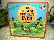 The Biggest Pumpkin Ever By Steven Kroll by Holidays Paperback Ages 4 8 Books For Children Ebay