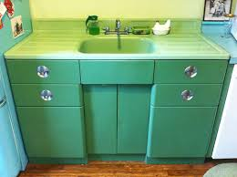 Midcentury And Prewar Farmhouse Kitchen Sinks Were I Believe Generally Manufactured Using A Cast Iron Or Steel Substrate Covered With Porcelain Enamel
