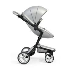 Mima Moon High Chair by Mima Xari Stroller Argento Black Babylicious Hoylake