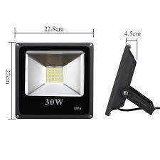 30w warm white led floodlight reflector spotlight outdoor garden