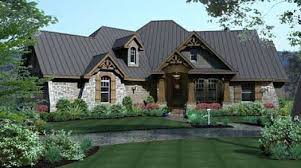 Craftsman Style Floor Plans by Craftsman Style House Plans Plan 61 112