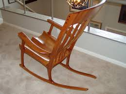 sam maloof rocking chair class sam maloof and hal inspired rocking chair shown made in