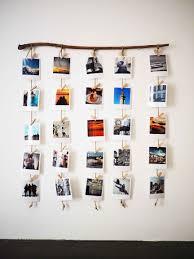 Photo Wall Ideas With String Room Decor Idea Fairy Lights