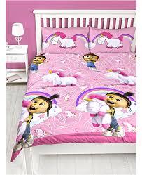 Despicable Me Daydream Fluffy Unicorn Double Duvet Set
