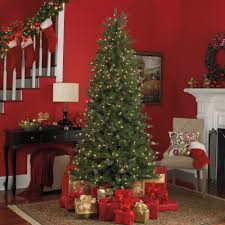 Blinking Christmas Tree Lights by Pre Lit Metal Christmas Tree Christmas Lights Decoration