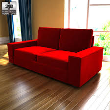 Ikea Kivik Sofa Cover by Ikea Kivik Two Seat Sofa 3d Model Hum3d