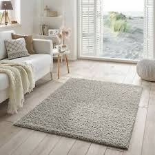 details zu shaggy teppich flauschiger hochflor für wohnzimmer schlafzimmer kinderzimmer