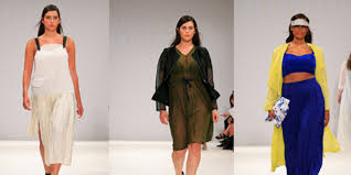 Plus Size Runway Show At London Fashion Week Proves High Is For All