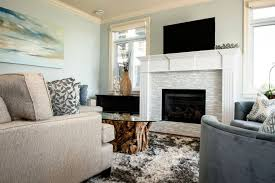 attractive ceramic tile for fireplace surround 3 contemporary