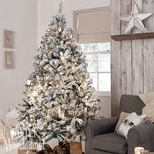 6 Ft Flocked Christmas Tree Uk by Buy Winter Wonderland 6ft Luxury Snowy Artificial Tree At Home