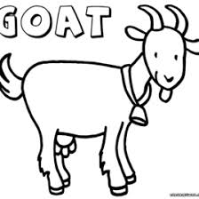 Goat Coloring Pages To Download And Print