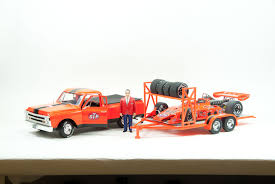 Die-cast: Replicarz's 1968 STP Chevy C10 & Tandem Race Trailer ... Kirpalanis Nv Toy Pickup Truck With Trailer Vehicles Toys Bruder Farm Ertl Big Outback Store Country Life Newray Ca Inc For Fun A Dealer Atc Alinum Hauler Amazoncom 2016 Dodge Ram 2500 And Heavy Duty Car Wild Hunting Fishing Play Set Die Cast Pick Up Camper Custom Trucks Moores L60 Tractor 7770005492 Lego City Great 60056 Tow Games Breyer Stablemates Gooseneck