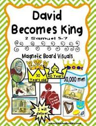 Cathys Corner David Becomes King Learns To