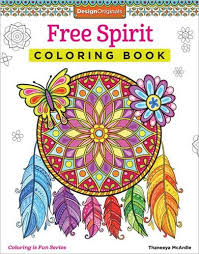Free Spirit Coloring Book By Thaneeya McArdle