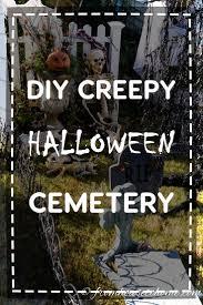 Diy Halloween Tombstones Cardboard by Best 25 Halloween Graveyard Decorations Ideas On Pinterest