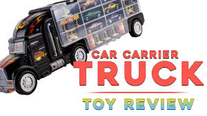 Transport Car Carrier Truck | Gifty Toy Reviews - YouTube 2000 Kenworth W900b Car Carrier Truck For Sale Auction Or Lease Toy Transport For Boys And Girls Age 3 10 Semi Matchbox Large 18 Learn Colors With Car Carrier Truck Coloring Book Super Megatoybrand Hauler Transporter 6 Cars Wvol Military Kids Includes Long 28 Slots Friction Powered 3d Free Download Of Android Version M Trailer With On Bunk Platform Empty Intended To Deliver New Auto Batches Stock