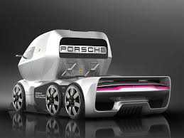 100 Porsche Truck GT Vision Would Haul Le Mans Racers And Then Race Too