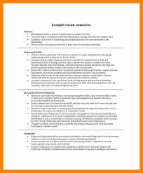 How To Write A Professional Summary For A Resume by How To Write Professional Summary In Resume Exles Of Summary