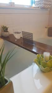 Teak Bath Caddy Au by Teak Stained Alder Bath Tray And Caddy Metal Book Phone