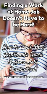best Work at Home Jobs images on Pinterest