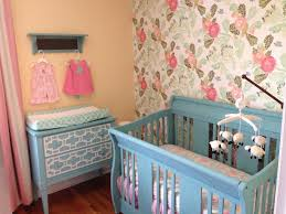 Bratt Decor Venetian Crib Craigslist by Aqua And Pink U0027s Nursery In Annie Sloan Provence Chalk Paint
