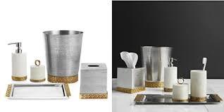 Mercury Glass Bathroom Accessories by Bath Accessories Bloomingdale U0027s