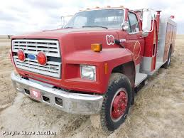 1991 Ford F800 Fire Truck | Item DC8465 | SOLD! January 9 Go...