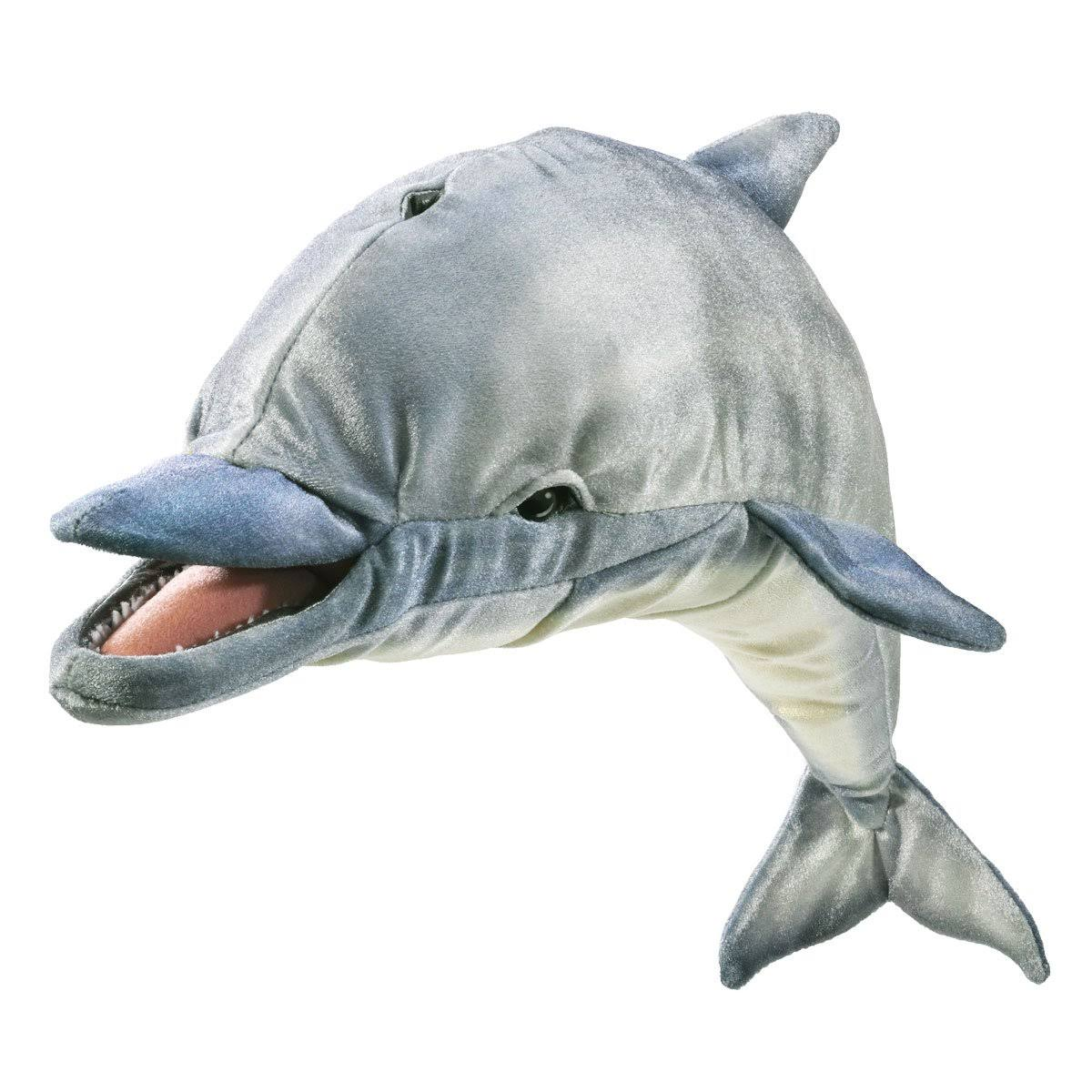 Folkmanis Whistling Dolphin Fish Puppet