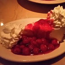 Cherry Cheesecake at Cheesecake Factory