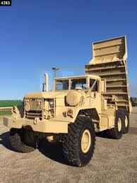 100 6x6 Military Truck M817 5Ton 6X6 Dump D30047 Oshkosh Equipment