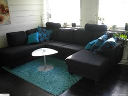 Black White And Blue Living Room Ideas Creditrestore Us
