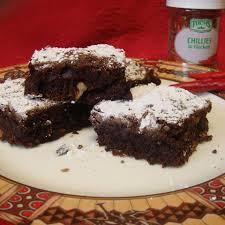 scharfe chili brownies rezept