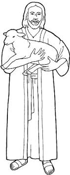 Picture Of Jesus Copy And Paste To Word For A Coloring Page