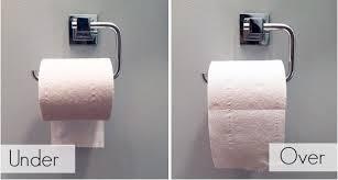 support a papier de toilette la bonne ère de placer le rouleau de papier de toilette