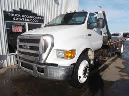 2007 FORD F650 XLT SD DECK TRUCK: - Valley City Sales