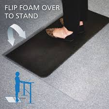 Standing Desk Floor Mat by E S Robbins 184603 Sit Or Stand Dual Purpose Mat Hard Floor