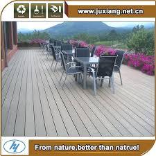 Outdoor Laminate Flooring White Antiseptic Wood Plastic Composite Decking Waterproof Deck Floor Covering